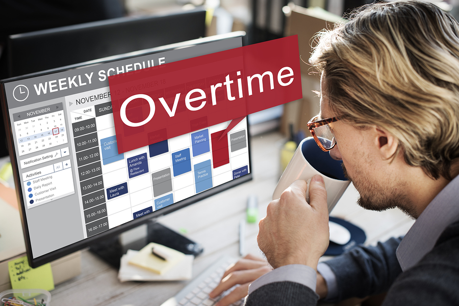 bigstock Overtime Hard Working Overload 125450801 - Controlling Overtime Costs