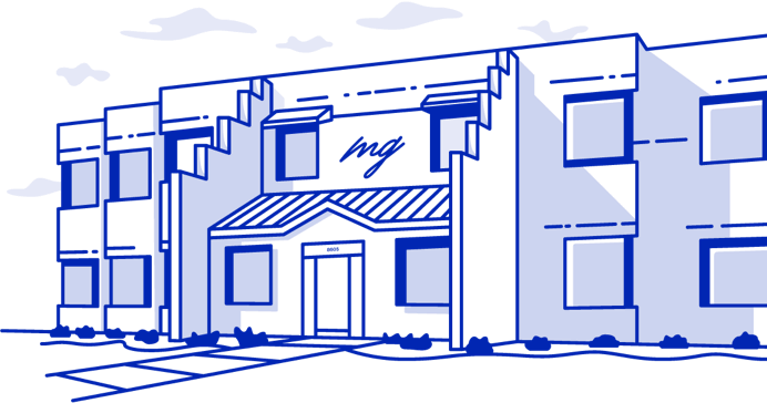 Outline of Meyers Glaros building